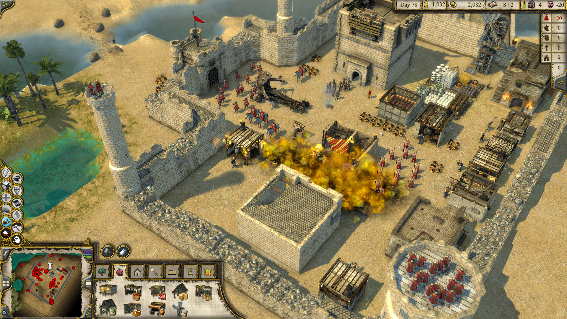 crusader stronghold по сети:
