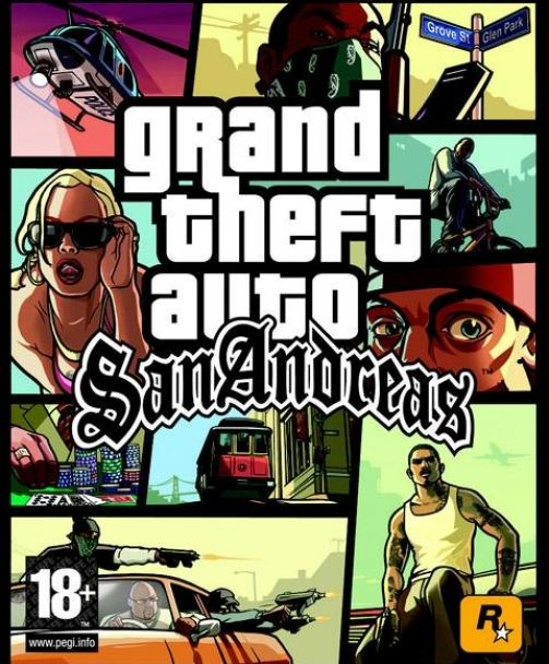 GTA San Andreas Украина