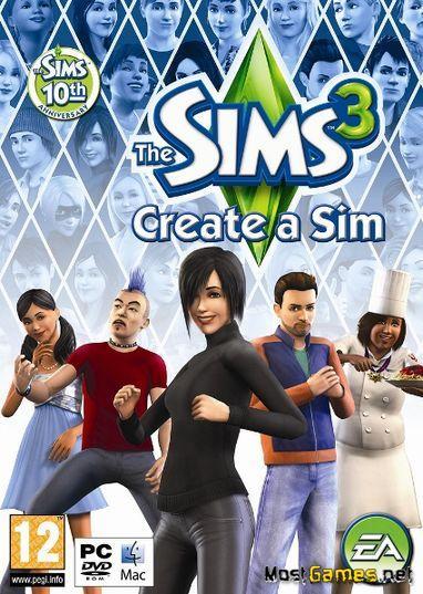 Create a sim sims 3