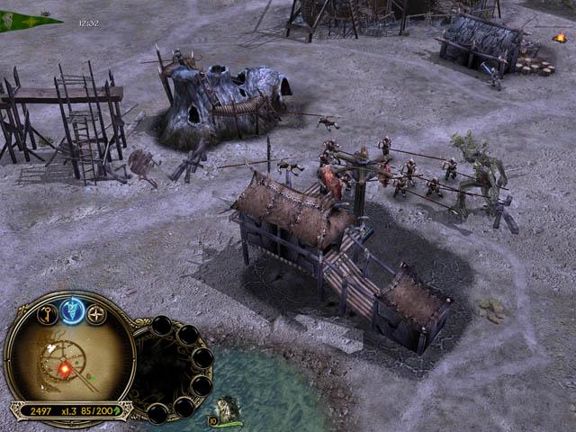 Властелин колец: битва за средиземье 2 под знаменем короля.
