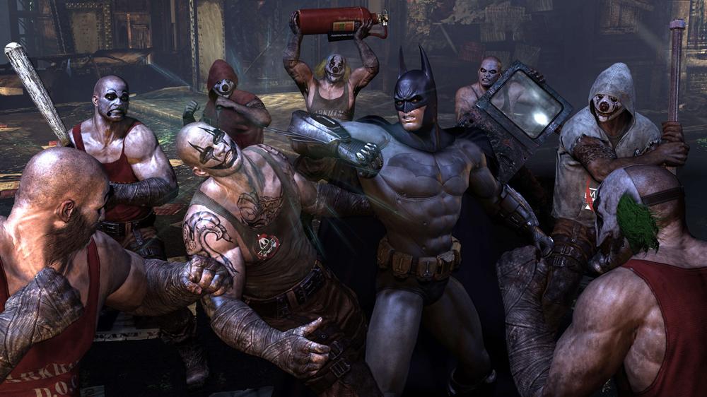 Бэтмен аркхем сити на андроид скачать.