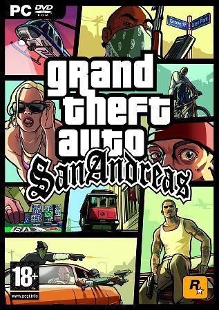 Grand Theft Auto: San Andreas v1 5 GTA - Скачать игры
