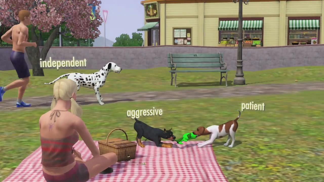 Дополнение К Sims 2 Питомцы
