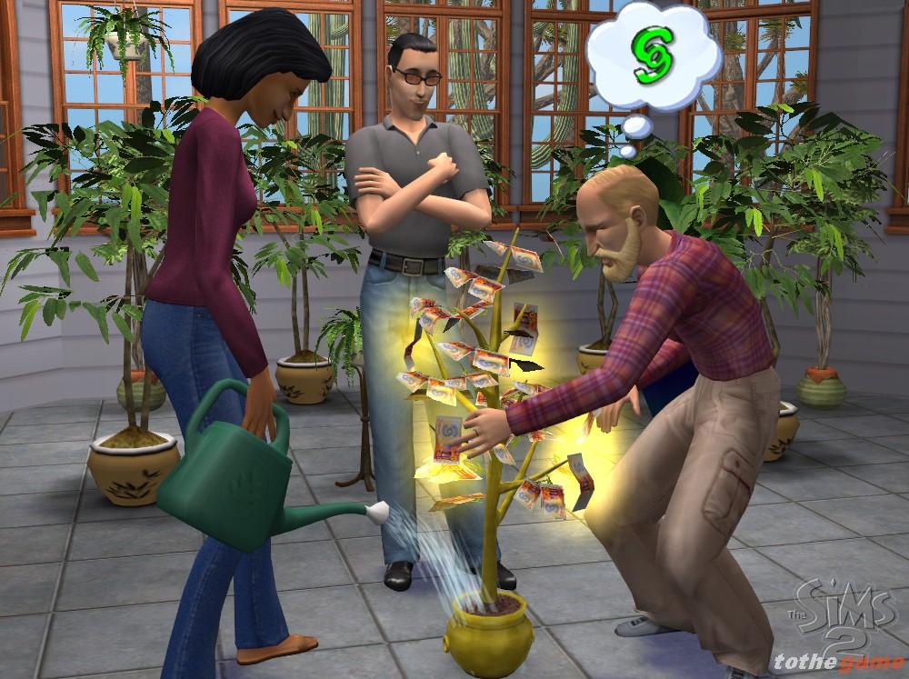 Как сделать деньги на симс 2 на 219