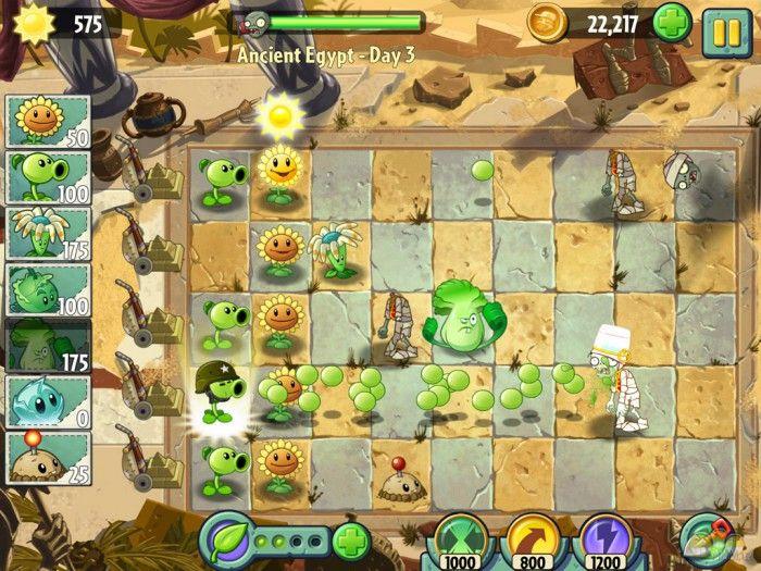 видео игры зомби против растений садовая война