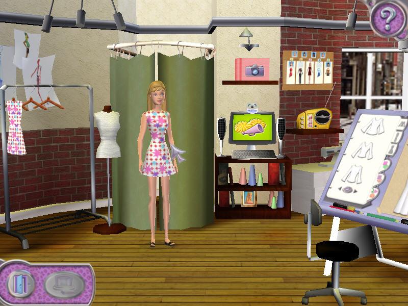 Игра Барби Показ Мод 2