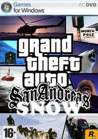 GTA San Andreas зима