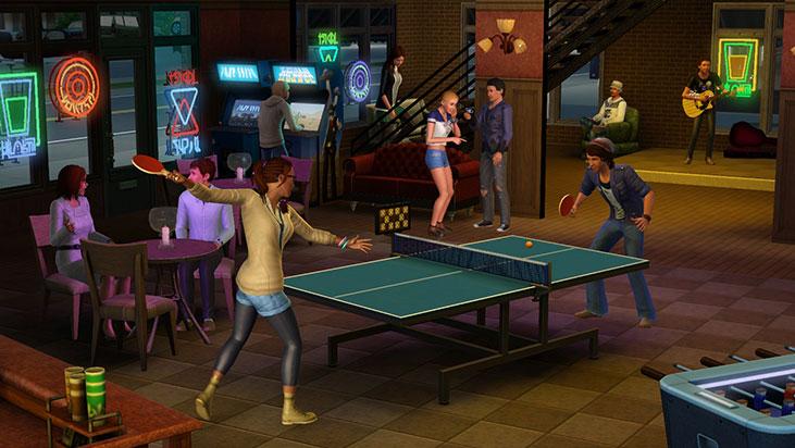 Игру Sims Университет